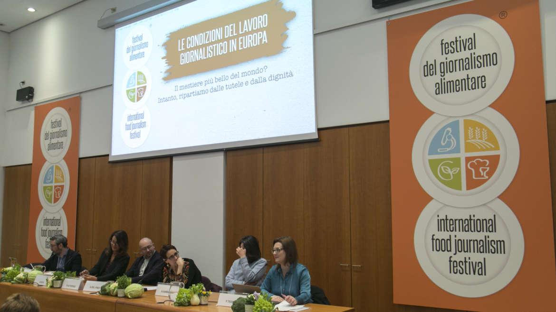 Partono i preparativi per il Festival del Giornalismo Alimentare